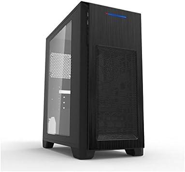 MS-Tech CA-0410 Mini-Tower Negro Carcasa de Ordenador ...