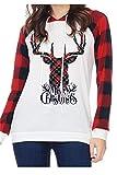 Best Yacun White Blouses - Yacun Women Christmas Sweatshirt Long Sleeve Hoodie Deer Review