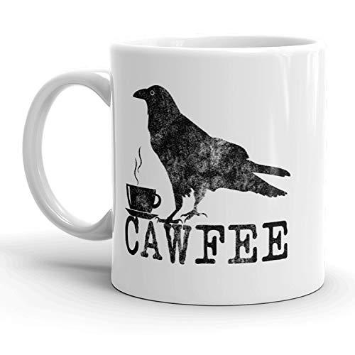 Cawfee Mug Funny Bird Crow Coffee Cup - ()