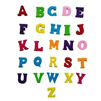 Amazon com: Embroid Patch - 130pcs Colorful English Alphabet