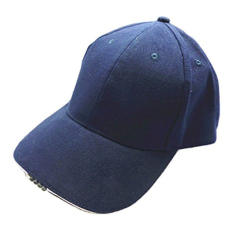 kawayee-mens-100-cotton-twill-navy-led-lighted-cap-night-fishing-cap-including-electronic