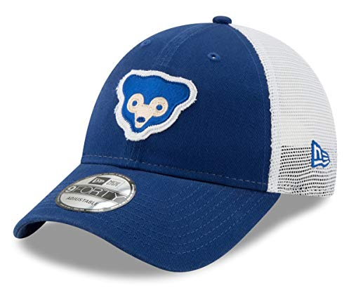 (New Era Chicago Cubs 1969 Team Truckered 9FORTY Adjustable Hat/Cap)