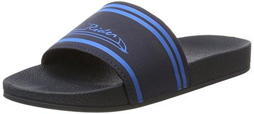Rider R86 Ad - Sandalias Unisex adulto Mehrfarbig (blue/blue)