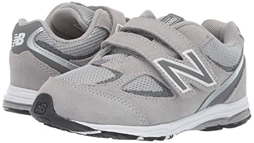 New Balance Boys' 888v2 Hook and Loop Running Shoe, Grey, 2 M US Infant by New Balance (Image #5)