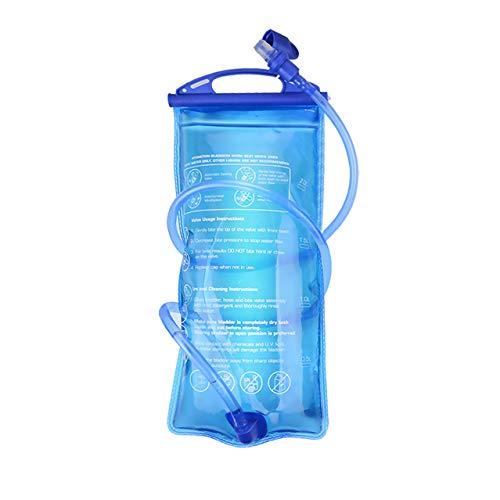 MATT SAGA Water Bladder Hydration Pack Bladder, 3 Litter 2 Liter 1.5 Liter Insulated Reservoirs BPA Free Bladder Replacement for Backpack Outdoor Running Cycling Hiking Climbing ()