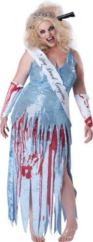 Drop Dead Gorgeous Plus Size Adult Costume - Plus Size (Zombie Prom Queen Costume Plus Size)