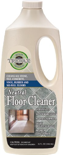 Trewax Vinyl and Linoleum Neutral Floor Cleaner, 32-Ounce