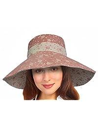 Women Summer Sun Hat Protection Wide Brim Cap Foldable Floppy Bucket Hat