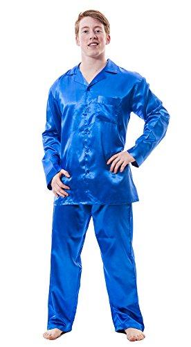 Up2date Fashion Men's Satin PJ Set