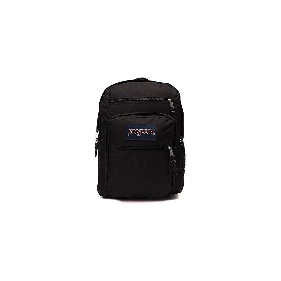 JanSport Unisex Big Student Black Backpack