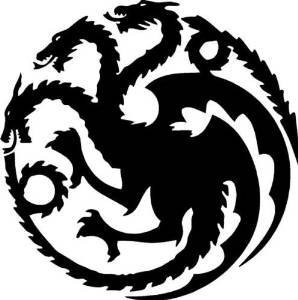 Amazon ni389 targaryen logo game of thrones house vinyl decal ni389 targaryen logo game of thrones house vinyl decal sticker 55 inches black altavistaventures Images
