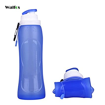 Foldable Water Bottle >> Amazon Com Collapsible Water Bottle Foldable Water Bottles