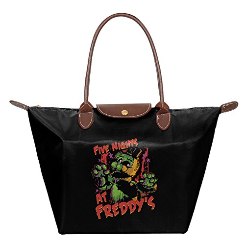 Phantom Freddy Costume - Five Nights At Freddy Phantom Friday Women's Stylish Waterproof Tote Shoulder Bag