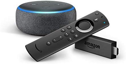 Amazon Fire TV Stick con mando por voz Alexa + Echo Dot (3.ª ...
