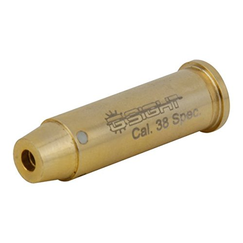 G-Sight BS-38 .38 Special Laser Bore SIGHT - Twist Cap, Brass (Best Bullets For 38 Special)