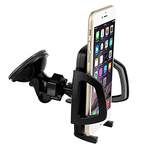 Moon Monkey Heavy-duty Universal Car Mount Holder for Cellphone, Mp3 Player, Iphone, Ipod Touch, Blackberry, Droid, GPS Garmin, Tomtom, Magellan Universal Cd Slot Mount for Cell Phones and GPS Devices (for phone)