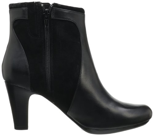 Society Black Women's Ankle Boot Round CLARKS FRwU5
