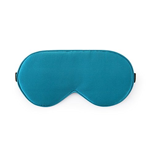 Orose Silk Eye Mask for Sleep and Block Lights,Adjustable Breathable Lightweight (Standard,Peacock) (Peacock Eye Mask)