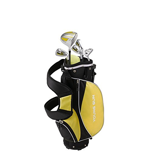 Young Gun ZAAP ACE Yellow Junior Golf Club Youth Set & Bag Kids Ages 3-5 by Young Gun (Image #1)