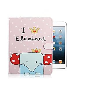 HP Cute Cartoon Lovely Ultra Slim PU Leather Smart Book Stand Case Cover for iPad 5/Air