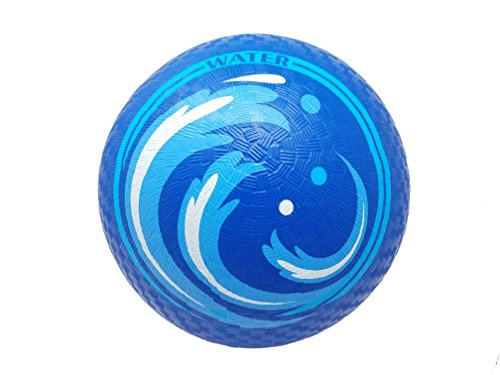 JUJU Athletics Elemental Blue Water Playground Ball 8.5