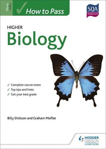 BOOK How to Pass Higher Biology (How To Pass - Higher Level) [Z.I.P]