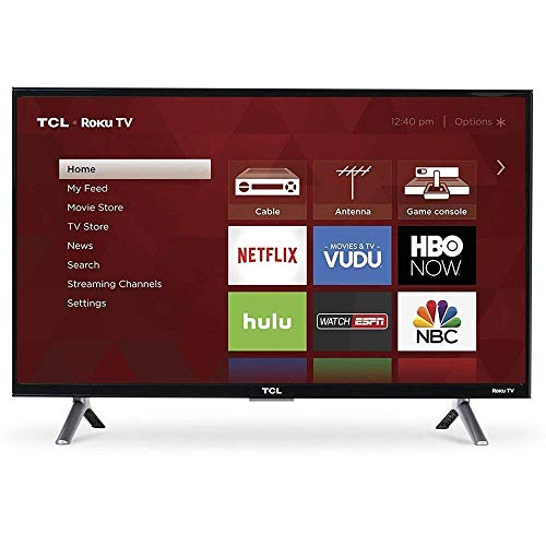 TCL 55S403 LED 4K 120 Hz Wi-Fi Roku Smart TV, 55
