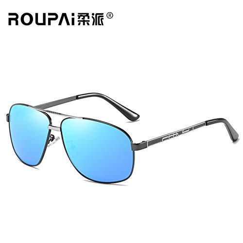 silver Soleil randonneurs à sunglasses UV400 frame de Homme nbsp;Protection pêche Gun Outdoor Mjia Sport Mode pour Lunettes Cheval Lunettes de Bq4wFZwU
