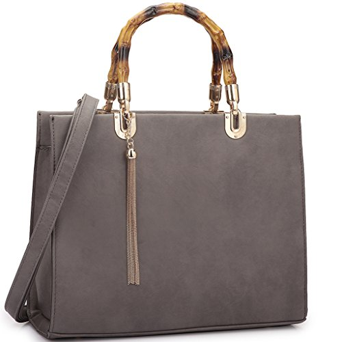 Purse 2575 Bag Large Designer Handbag Shoulder 2 Top Wallet grey Set Satchel Handle pieces TTq7crt