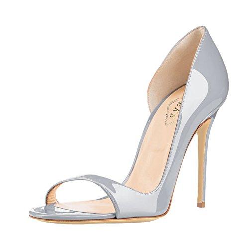 EKS - Zapatos de vestir para mujer gris