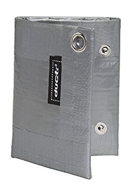 Ducti Triplett Silver Super Duct Tape Trifold Wallet