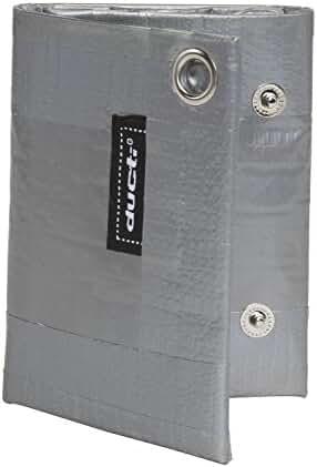 Ducti Triplett Silver Super Duct Tape Trifold Wallet