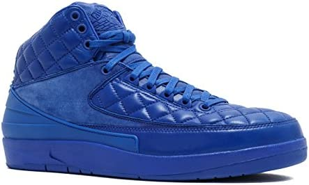 100% authentic 2718d 99d79 Nike Air Jordan 2 Retro Don C Basketball Shoes Men's Style #717170-405 Blue