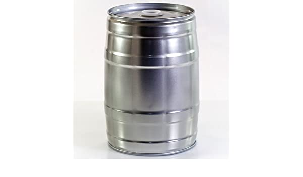 Fass-Frisch Barril de Metal Reutilizable, para Fiesta, 5 litros: Amazon.es: Hogar