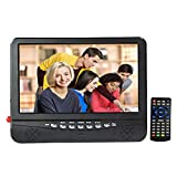 9inch tv headrest for cars - GJY 9-Inch Car Headrest Monitors,Car Video Player,Portable Widescreen TV,Built in Digital Tuner+NTSC,USB/TF Card Slot/Headphone Inputs,with Detachable Antennas,Full Function Remote,Removable Bracket