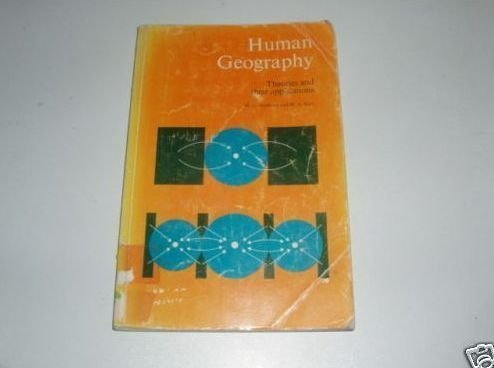 Human Geography: Theories and Their Applications (Science in Geography) by M. G. Bradford - Shopping In Wa Perth
