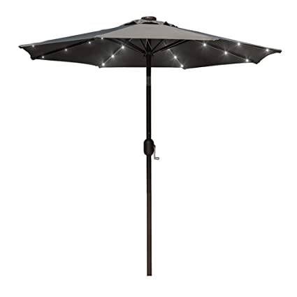 Amazon Com Sundale Outdoor 7 Ft Solar Powered 24 Led Lighted Patio