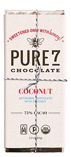 Pure7 Honey Sweetened Coconut Bar, Paleo (2.2 oz.)
