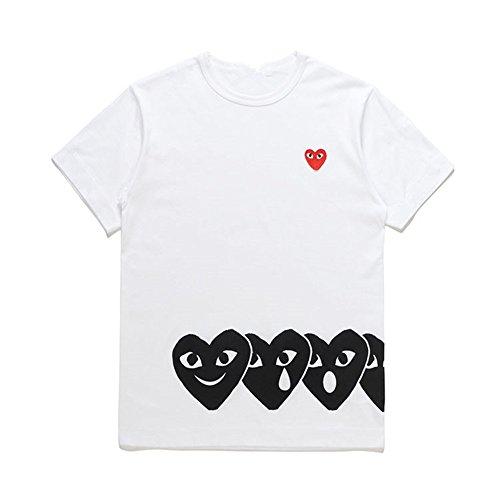15af3f93d2a3a3 daki Comme des Garcons Play Women s T-Shirt Black Heart Short ...