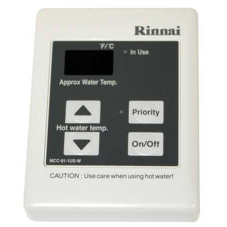Rinnai MCC-91-2W Commercial Remote 98° to 160° Temperature Controller for the Ri, (Remote Temperature Controller)
