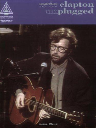 Eric Clapton: Unplugged - Guitar Recorded Versions (Album): Songbook, Grifftabelle für Gitarre