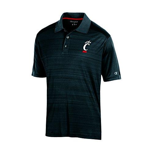 NCAA Cincinnati Bearcats Adult Men Short sleeve Colorblocked, X-Large, Black