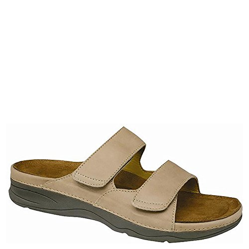Barefoot Freedom by Drew Women's Milan Sandals,Cork Leather,9.5 WW by Drew Shoe