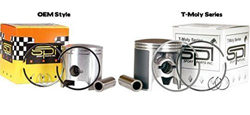 Sports Parts Inc SM-109279 Hyperdryve Piston Kit - Standard Bore 85.00mm