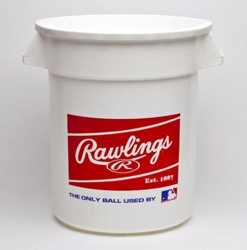 Rawlings 10 Gallon MLB Baseball Big Bucket, 6 Count ()