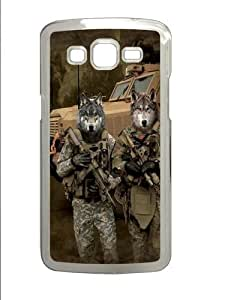 JTAC Wolfpack PC Case Cover for Samsung Grand 2 and Samsung Grand 7106 Transparent