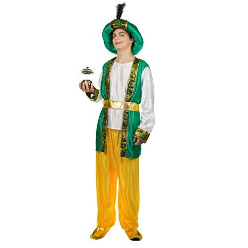 flatwhite Adult Man's Arabian Prince Costume ()