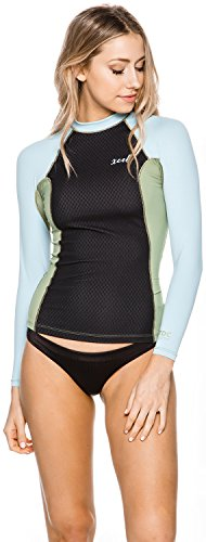 new-xcel-surf-womens-drylock-smart-fiber-ls-rashguard-long-sleeve-stretch-blue