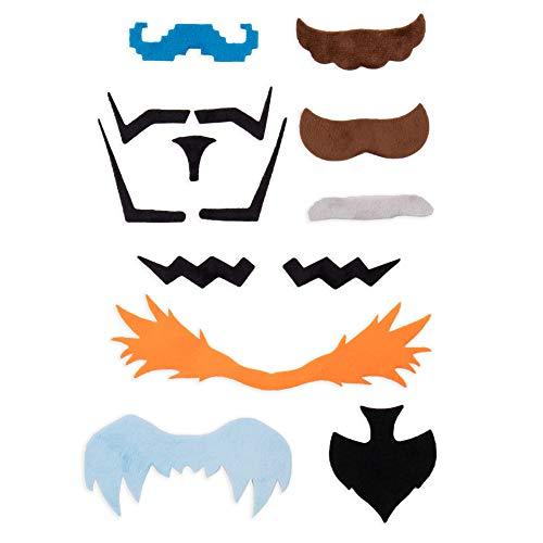 Super Moustachio Bros Fake Mustaches for Video