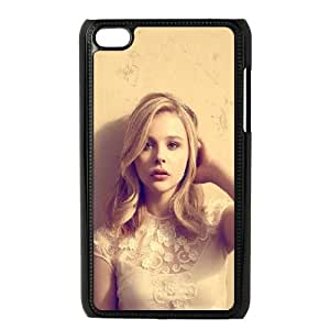 iPod Touch 4 Case Black hd49 chloe moretz cute sexy actress celebrity SP4154325